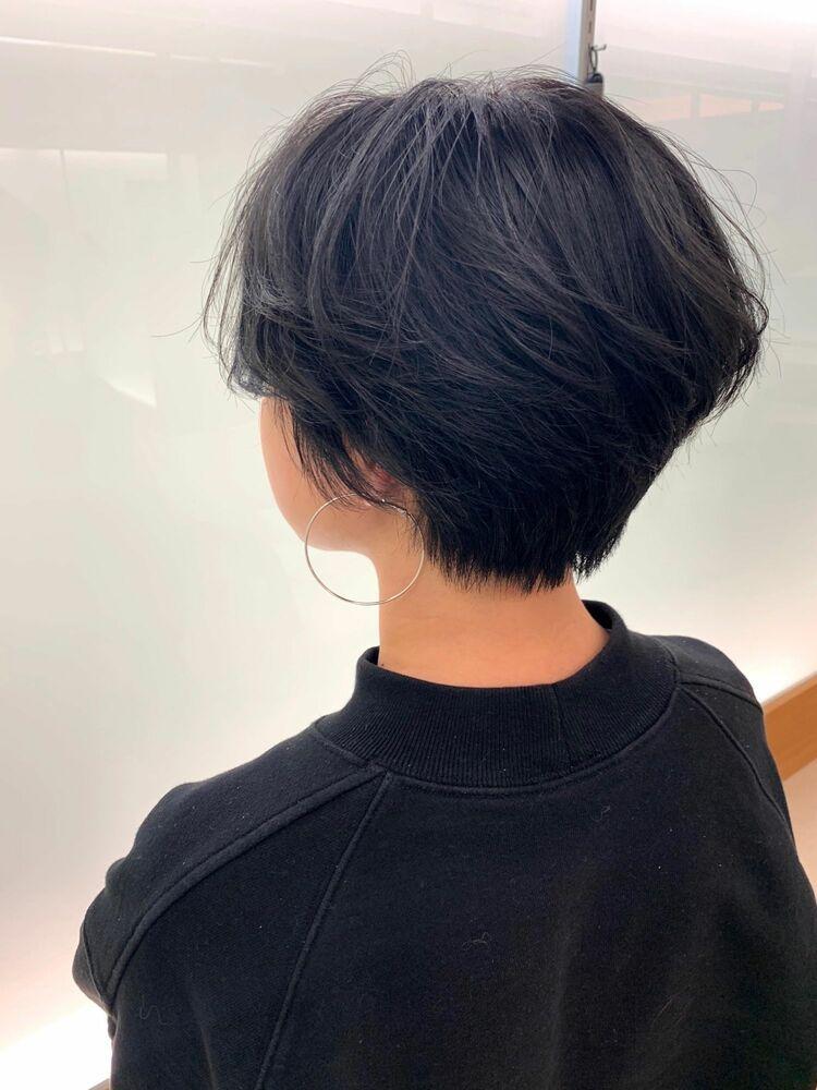 骨格補正カット〜クールショートスタイル