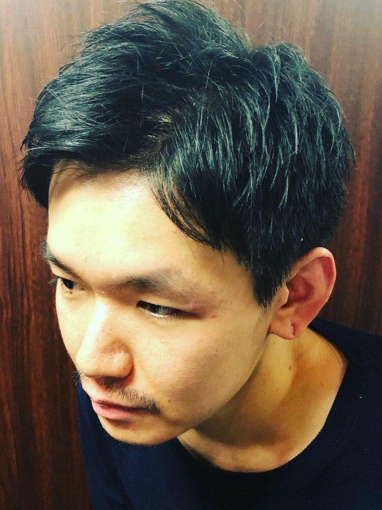 耳スッキリ大人のショートスタイル  新橋/メンズカット/ビジネスヘア