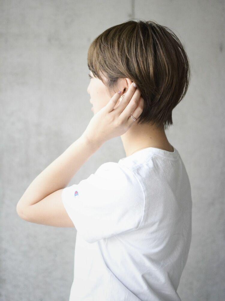 【時短ショートヘア】