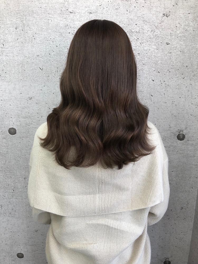 韓国ヘア×モカブラウン
