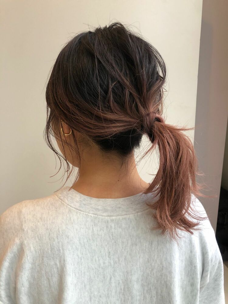 (Garden加藤)ピンクグラデーションカラー