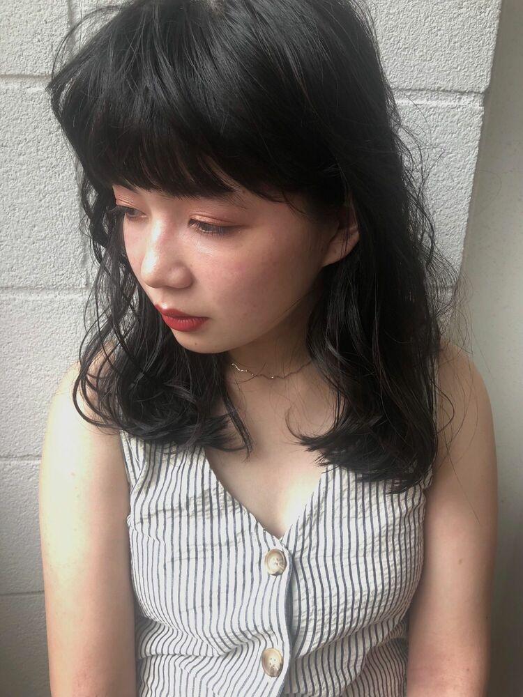 色っぽニュアンスヘア