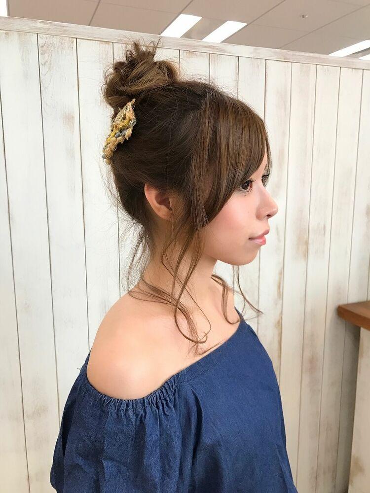 【サングース東海林】休日デートstyle♪キュートお団子アレンジ