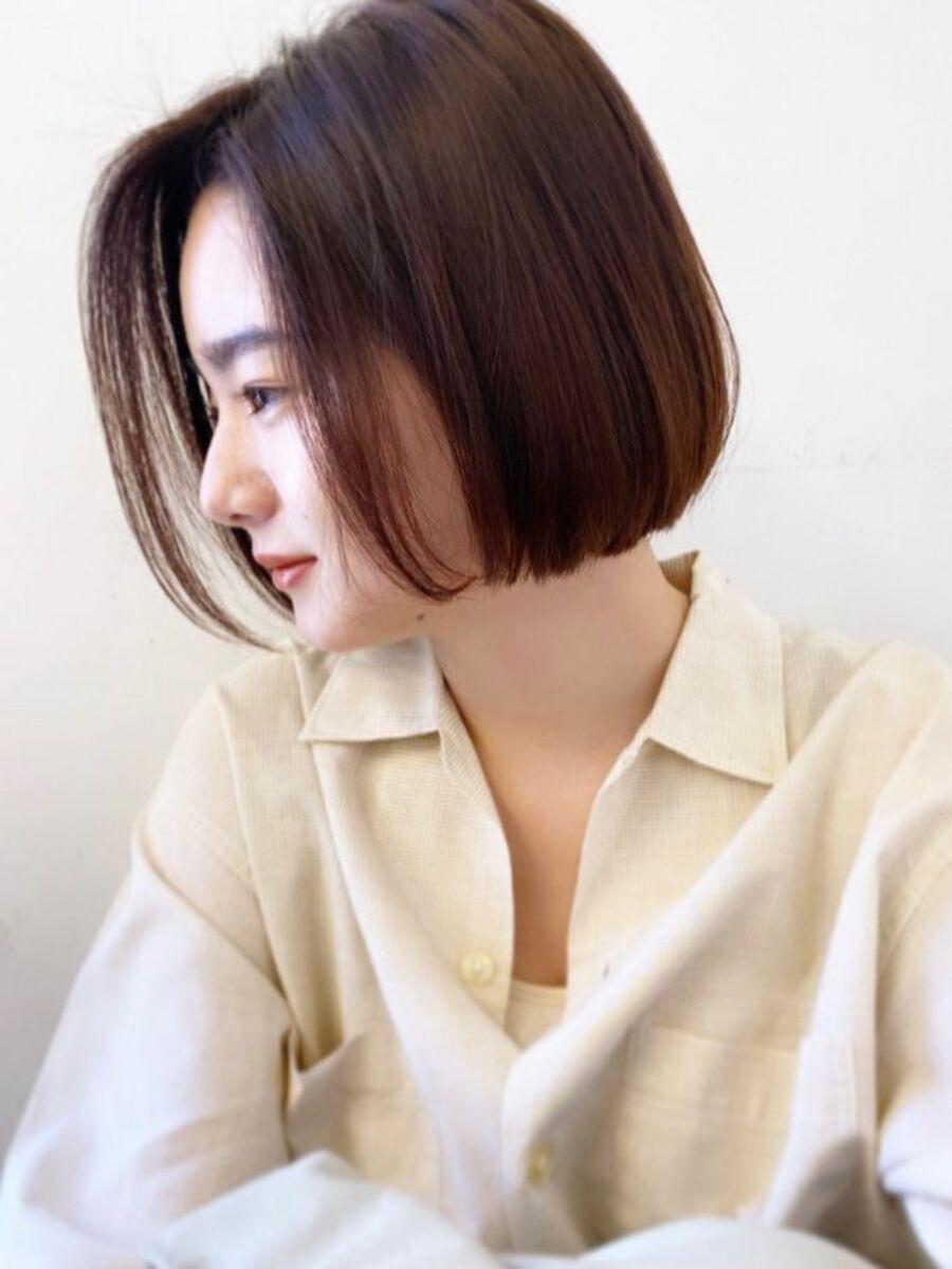 癖毛の方にオススメ♪乾かすだけで簡単にまとまるようカットしているので簡単にスタイリング出来ます
