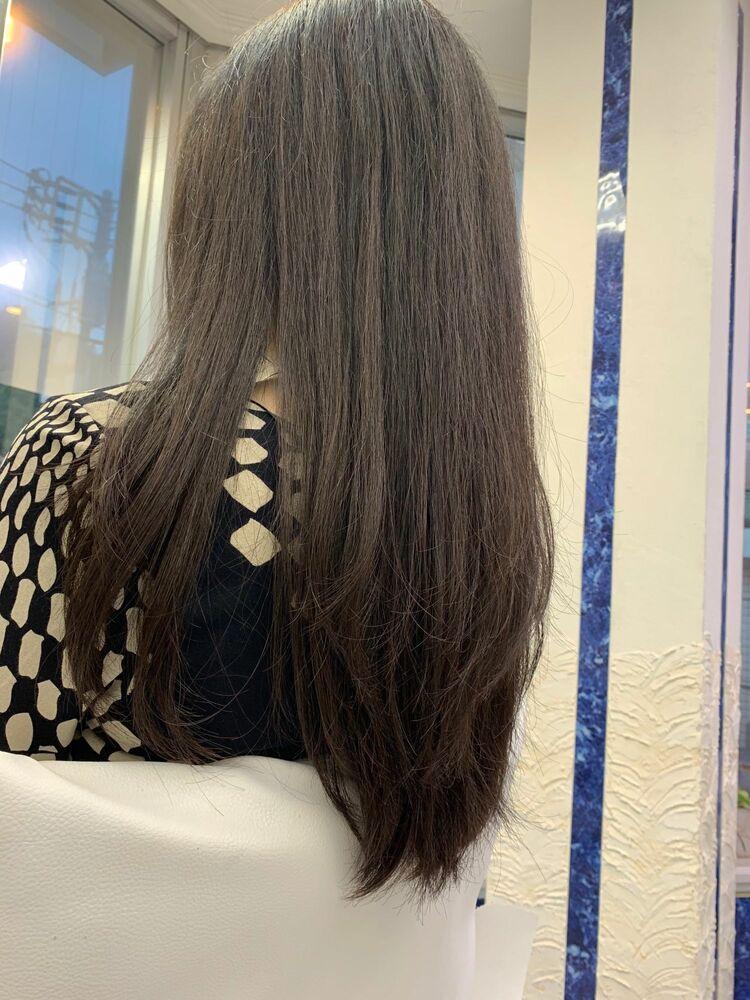 きれいな髪になるロングヘア