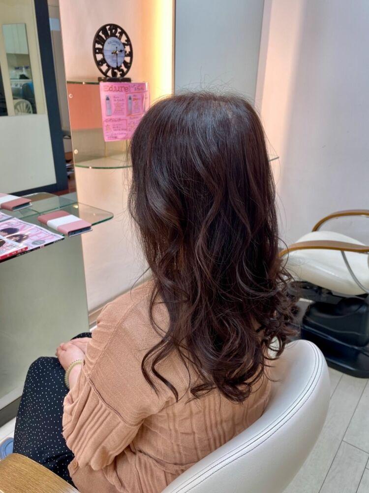 艶髪ゆるふわスタイル