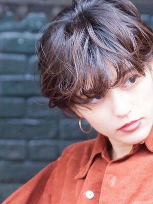 HAVANA 渋谷#マッシュショート#横顔美人#耳かけ#コンパクトショート