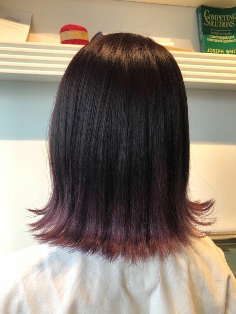 裾カラーpink lavender ♡