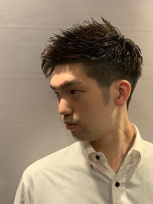 男は黒髪ジェルが最強!/六本木/理容室/ヒロ銀座