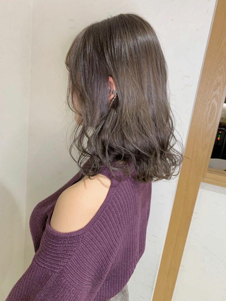 ミルクティーベージュ×ボブ☆ Feria渋谷 石田幸輔 インスタ→k_i011