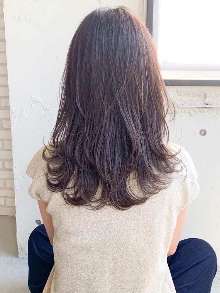 dydi 美髪デジタルパーマ ブランジュ 大人可愛い小顔くびれセミディ♪