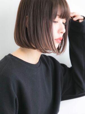 Euphoria〈stylist 愛〉似合わせカット☆小顔ボブ