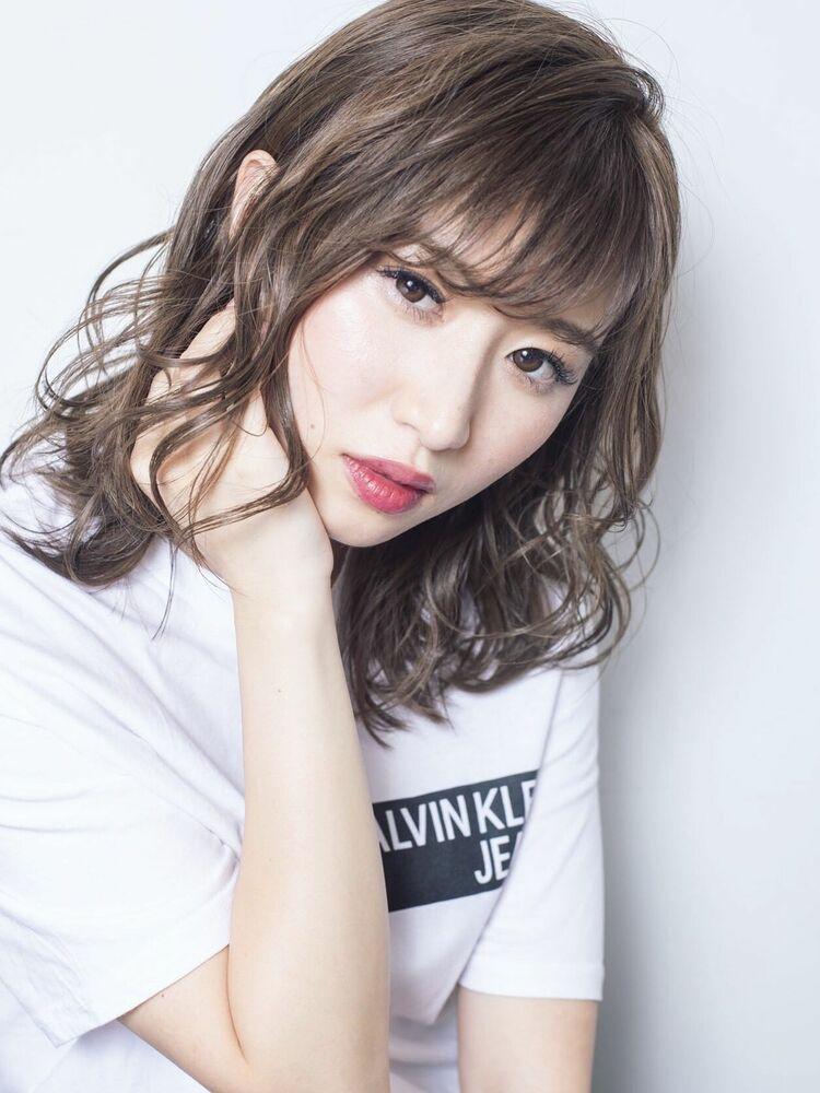 Euphoria〈stylist 愛〉似合わせカット☆20代30代40代小顔☆ひし形ミディ