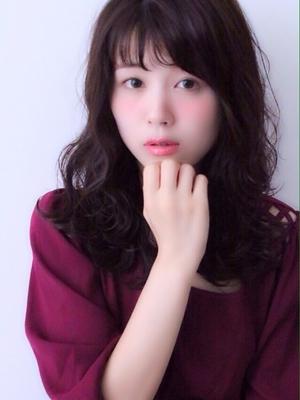 ☆ShellBear☆銀座・東銀座 オフェロな大人可愛いセミロングヘア