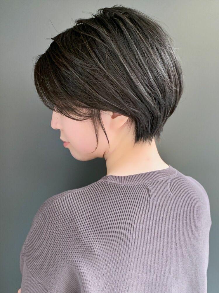 可愛いショートヘア