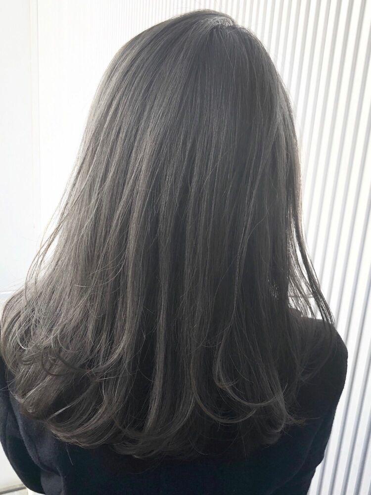 シアーグレージュのルーズヘア