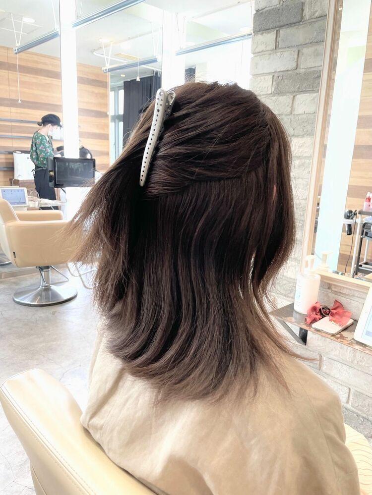 髪をキレイにして時短する