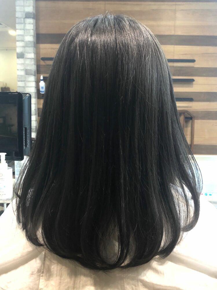 ゴワツク髪をしなやかに。ゼロアルカリストレート。
