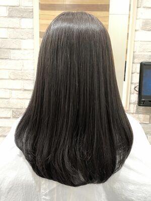 髪質改善と暗髪透明感