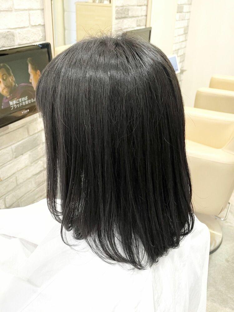 縮毛矯正かろ髪質改善へ