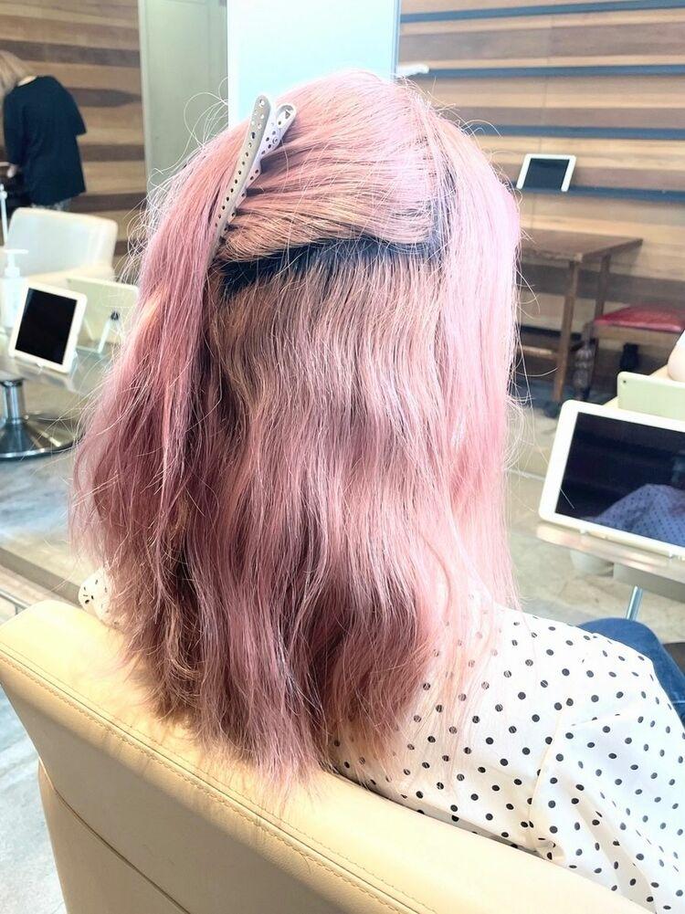 ピンクの場合