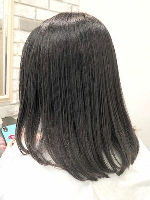 髪質改善ゼロアルカリストレートとグレージュ