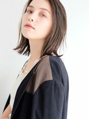 《ささきまさき》『髪質改善カット』+フォギーベージュ