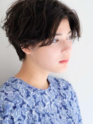 《ささきまさき》『髪質改善カット』×ハンサムショート