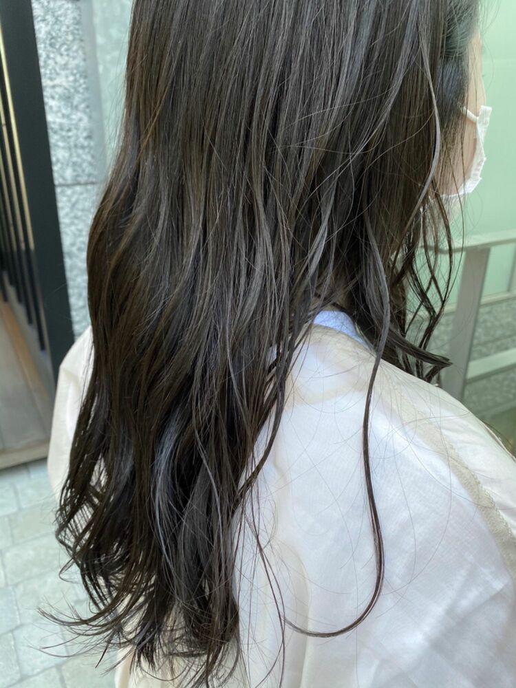 《ささきまさき》『髪質改善カット』+オリーブアッシュ