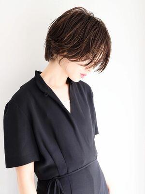 《ささきまさき》『髪質改善カット』+ハンサムショート+インナーカラー