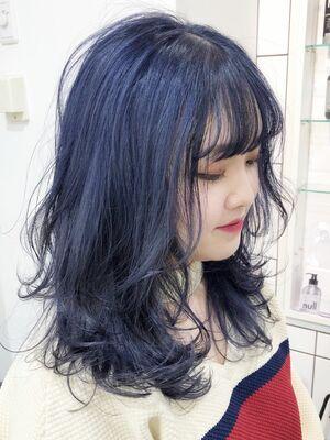 SHACHU KONNO レイヤーウルフ ネイビー