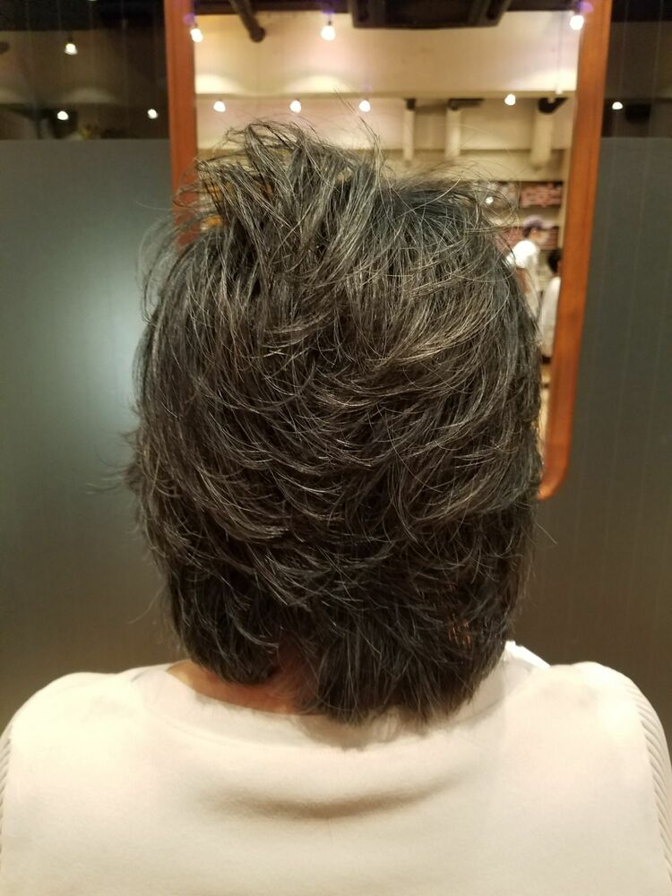 70代ミディアムヘア