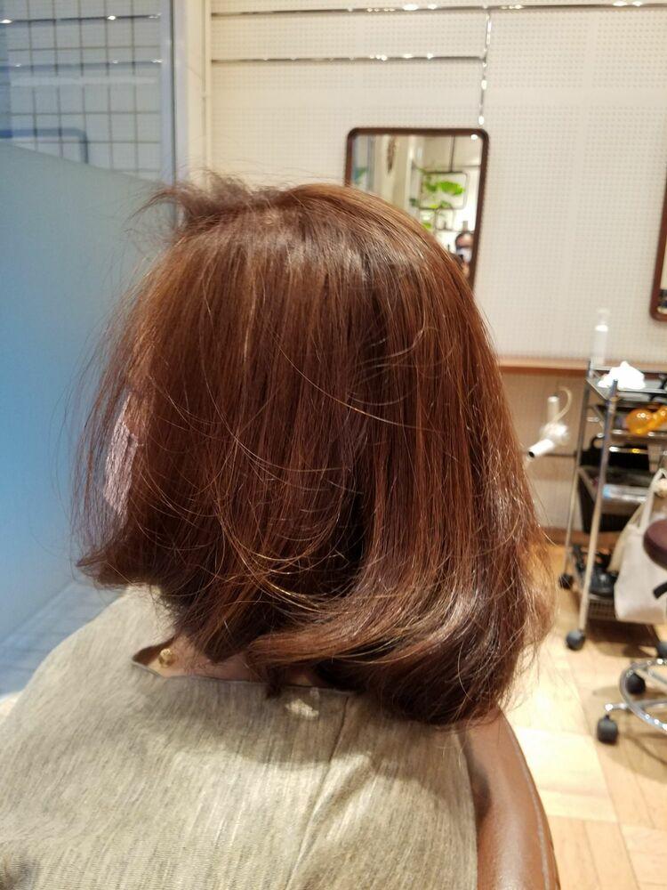 40代ミディアムヘア