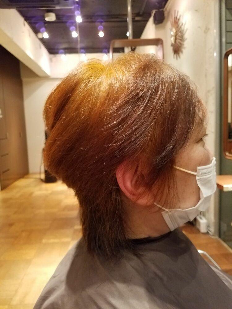 60代定番スタイル。ノンダメージのヘアマニキュア