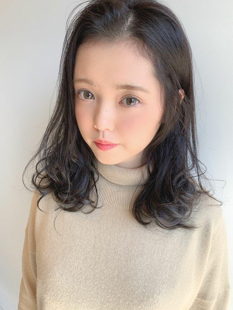 ☆大人かわいい暗髪ラテブラウン☆