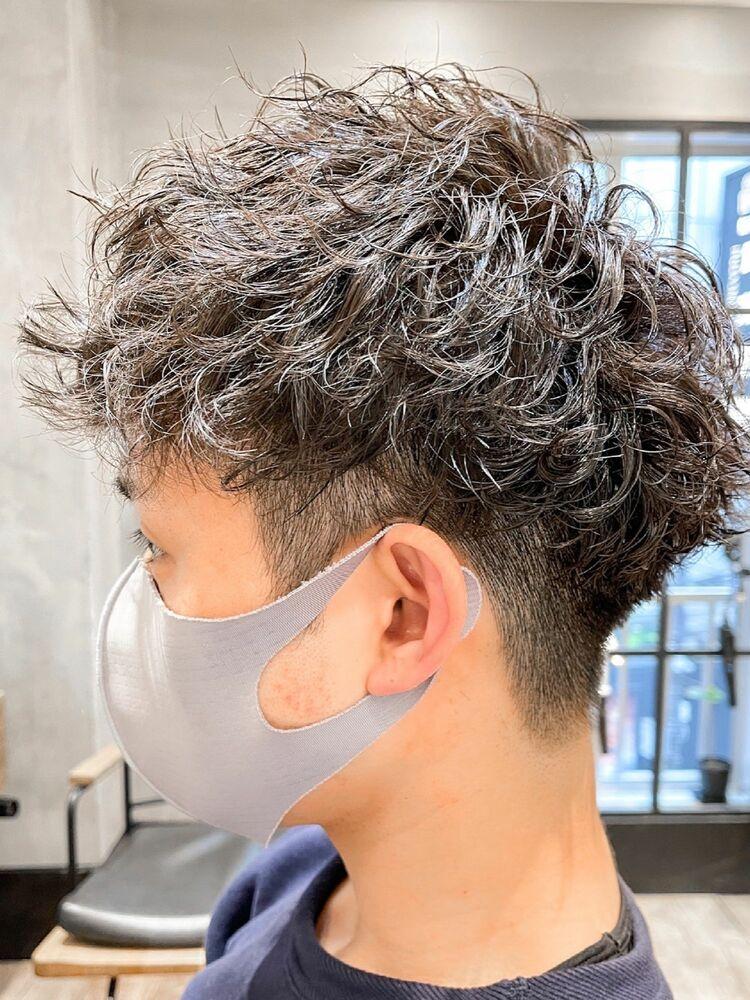 ツイストパーマ×2wayヘア