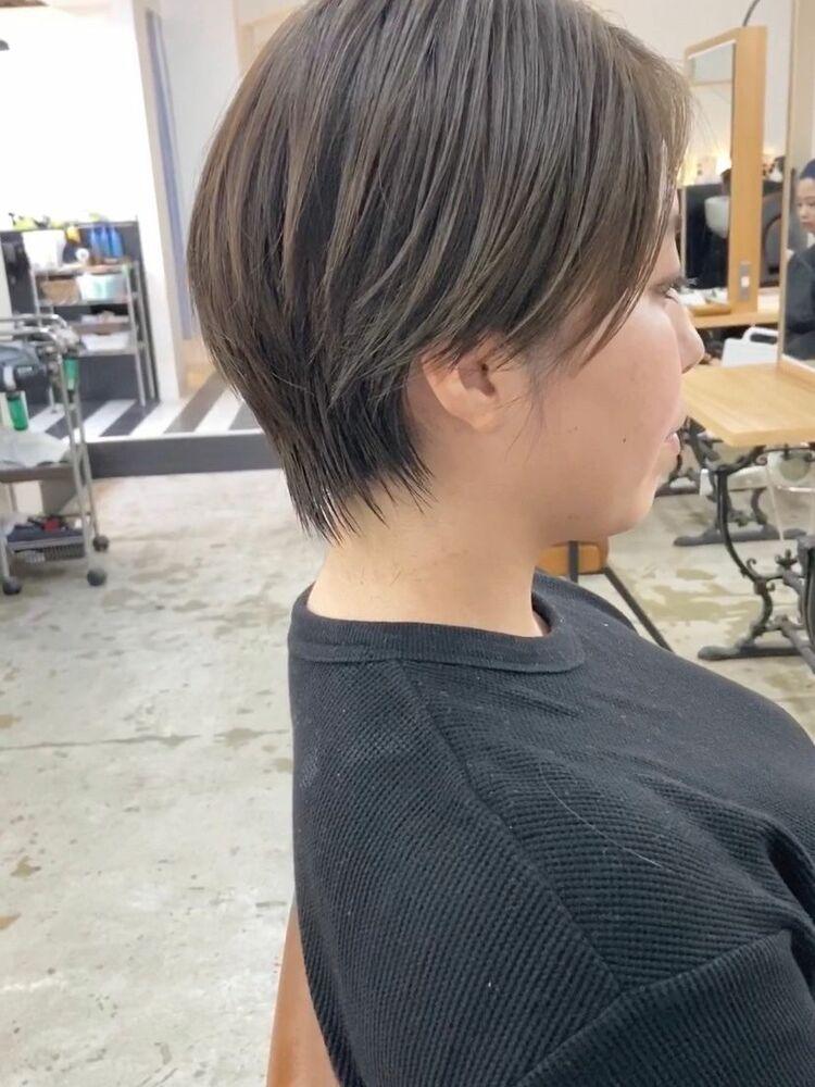 [髪質改善カット]大人可愛いどんな髪質でもフィットするショート