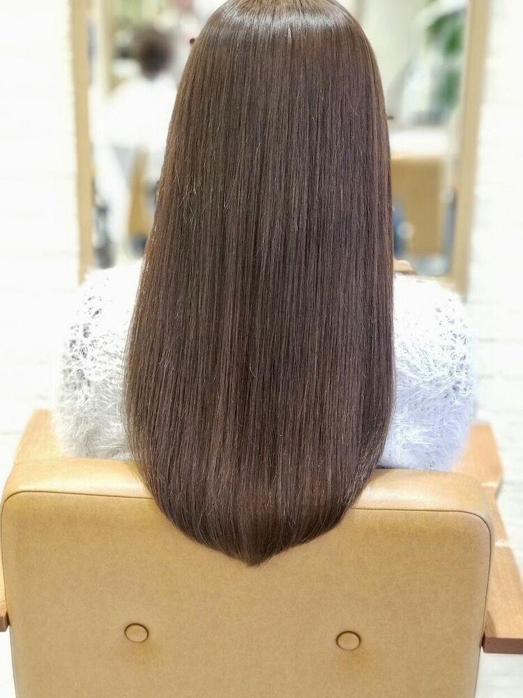 髪質改善ツヤストレート