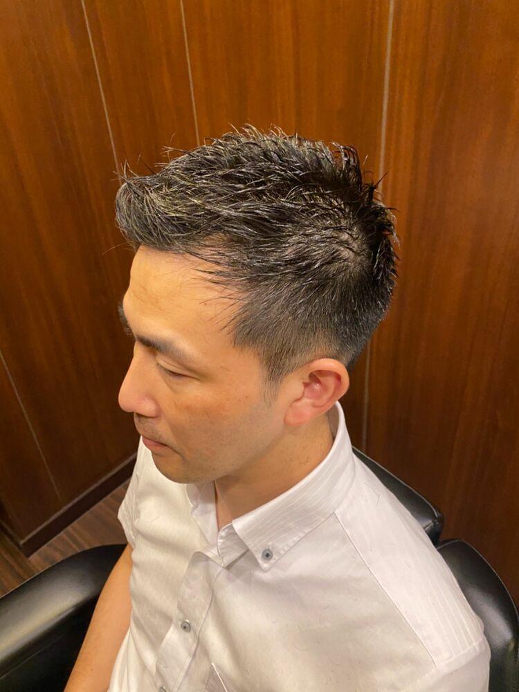 ビジネスショートヘア