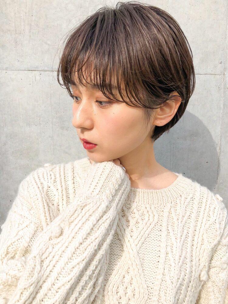 mee./イシガミ/表参道/青山 ナチュラルパーマショート
