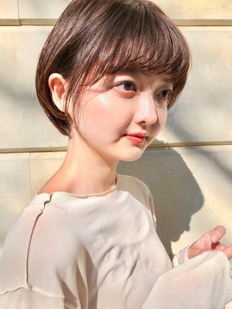 mee./イシガミ/表参道/青山 ショートボブ