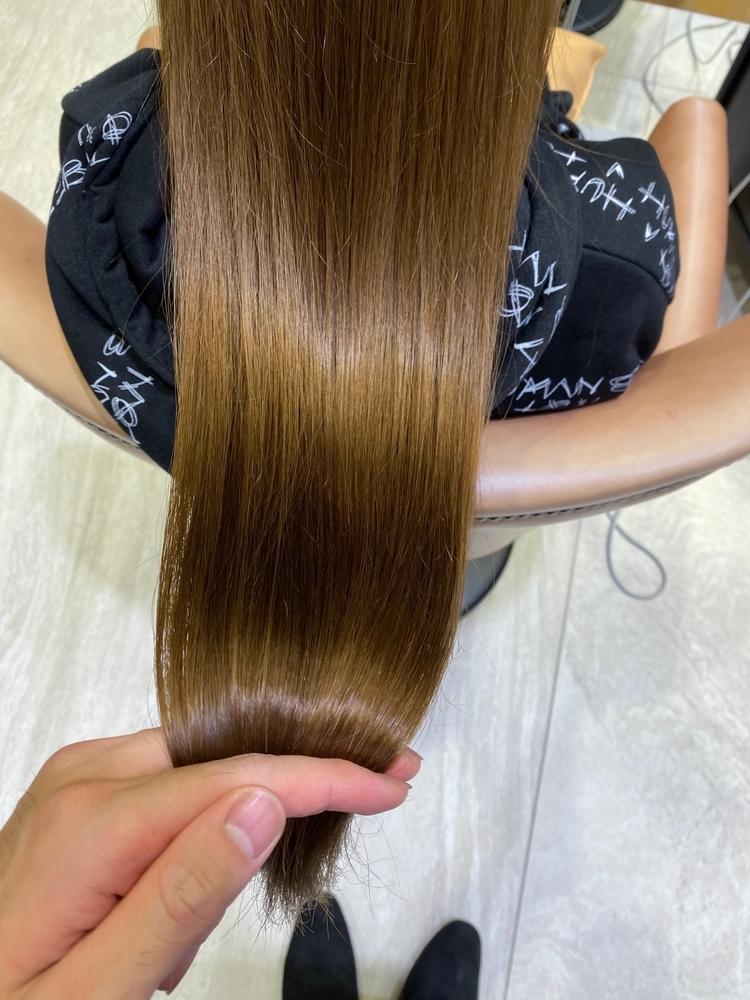 チャコールグレーとoggi ottoトリートメント、乾燥毛、まとまりのない髪にオススメ!