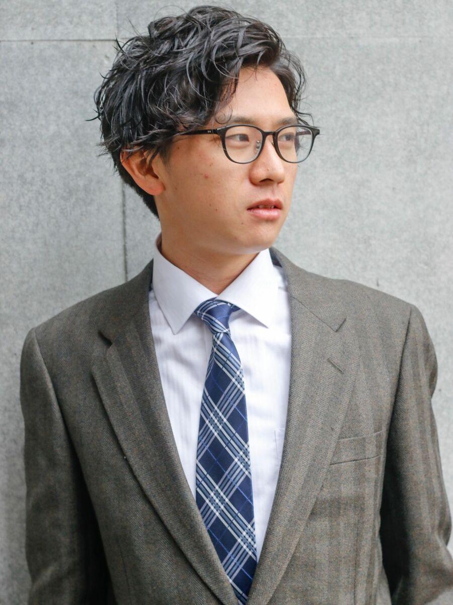 CANAAN ビジカジパーマスタイル☆