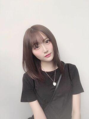 大人可愛いツヤ髪スタイル☆スモーキーグレージュカラー☆