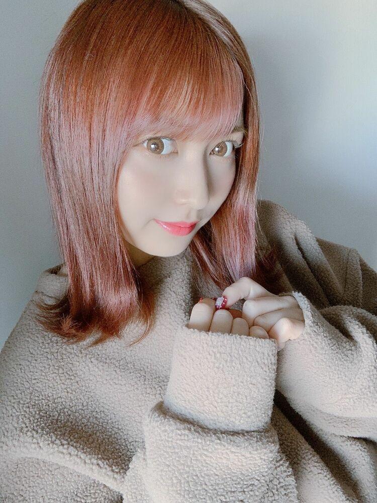 外ハネボブ☆イルミナカラー使用のブロッサムカラー☆