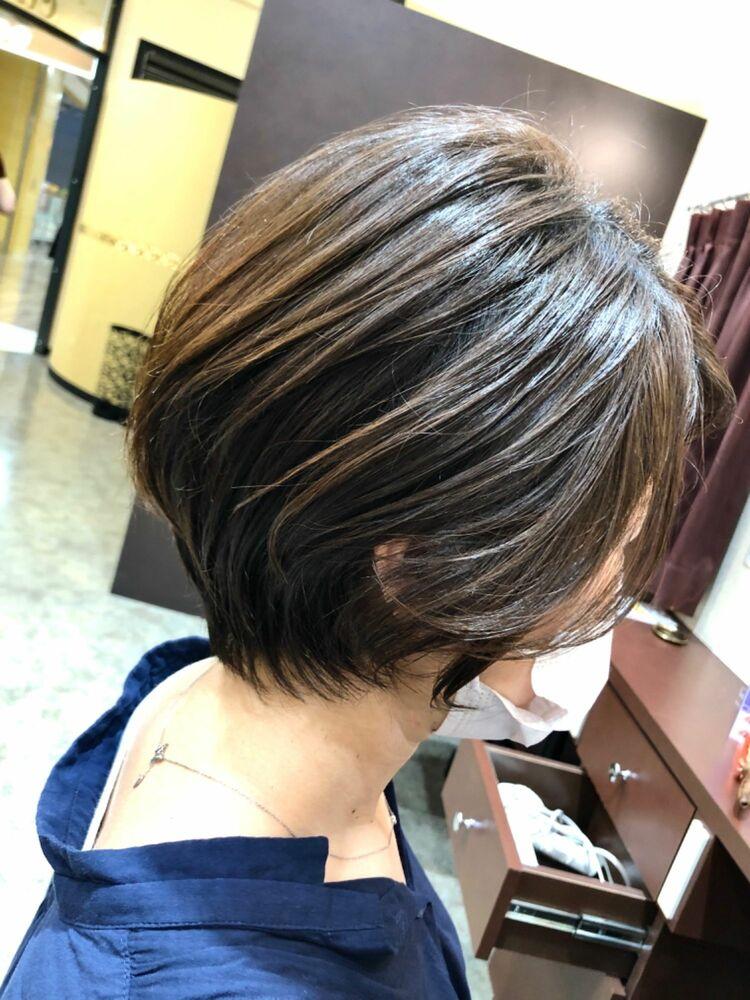 ◆明るい白髪染◆グレイカラー◆ハイライト、バレイヤージュインナーカラー◆ケアブリーチ◆暗くても透明感