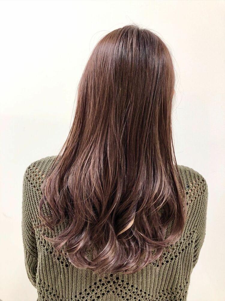 ◆明るい白髪染◆グレイカラー◆ハイライト、バレイヤージュインナーカラー◆ケアブリーチ◆暗くても透明