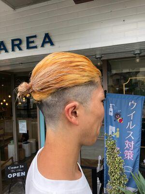 金髪マンバン