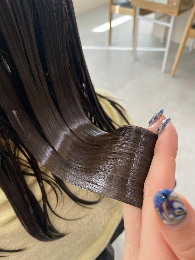 髪質改善!超音波トリートメント