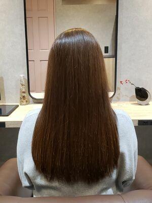 髪質改善トリートメントケア